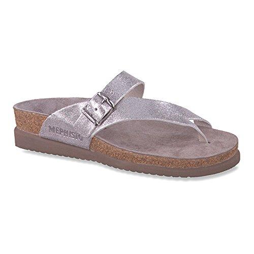 Sandale sandalbuck Mesdames Mephisto de Argent Hélène pPwHdCaq