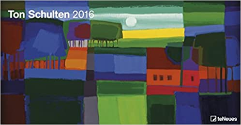 Ton Schulten 2016 Kunstkalender Panoramaformat Wandkalender Panoramakalender 64 X 33 Cm Amazon Es Teneues Libros En Idiomas Extranjeros