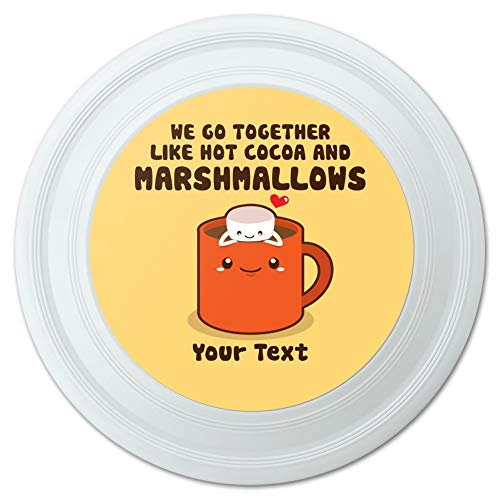 GRAPHICS & MORE Personalized Custom 1 Line Hot Cocoa and Marshmallows Best Friends Novelty 9