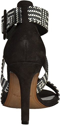 1 Womens Sandals Schwarz 28 28360 Tamaris 6FHqwOw