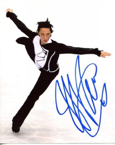 (JOHNNY WEIR signed *OLYMPIC FIGURE SKATING* 8x10 Photo W/COA #5 )