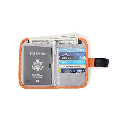 Passport Wallet Organizer Travel Cover Holder
