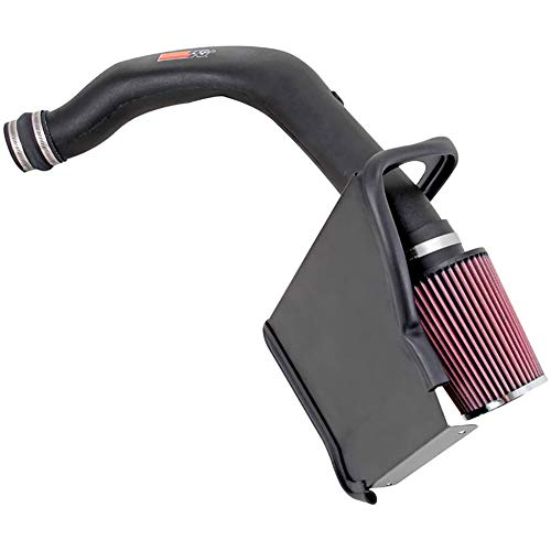K&N Performance Cold Air Intake Kit 57-3026 with Lifetime Filter for 1988-1995 Chevrolet C/K Truck 5.7L V8