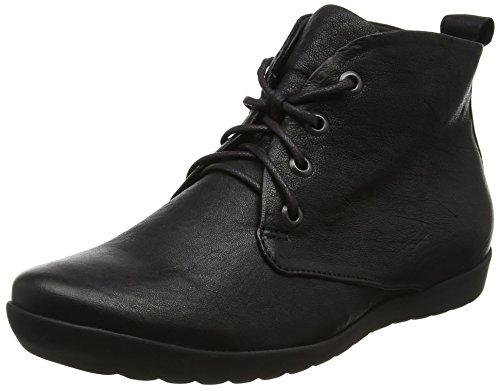 Think Anni, Stivali Desert Boots Donna Nero (Schwarz 00)