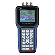 "Cigovd Handheld 2 Channel Digital Signal Generator Portable Frequency Sweep Meter 30MHz Output 2CH 3.2"" TFT LCD Display"