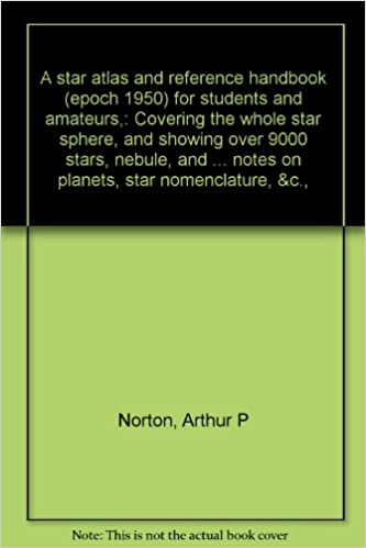 A star atlas and reference handbook (epoch 1950) for
