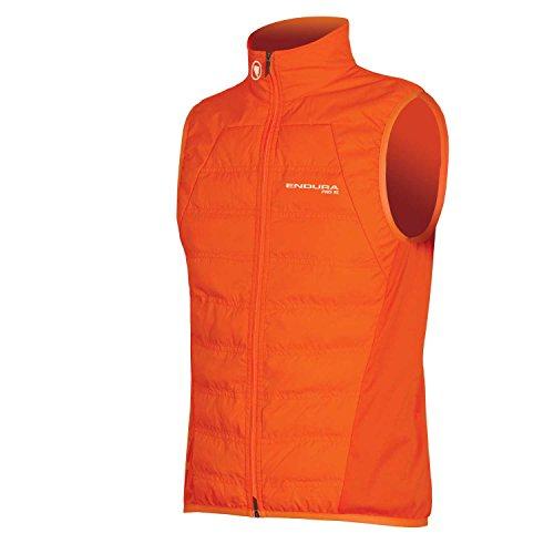 - Endura Pro SL Primaloft Cycling Vest - Men's Windproof & Compact Gilet Hi-Viz Orange, Medium