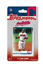 Cleveland Indians 2019 Topps Factory Sealed Special Edition 17 Card Team Set with Corey Kluber and Francisco Lindor Plus