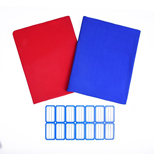 2 Pack Super Stretchable Fabric Book Cover: Jumbo 9