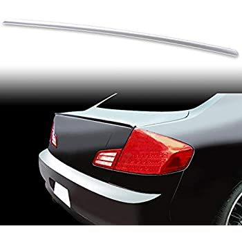 NH624P Premium White Pearl Tricoat FYRALIP Painted Factory Print Code Trunk Lip Wing Spoiler For 2004-2008 Acura TL Sedan Third Generation UA6 UA7 Fast Delivery Easy Installation Perfect Fit