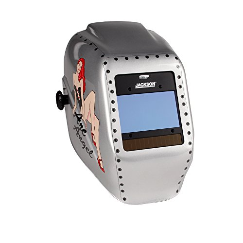 Jackson Safety Insight Variable Auto Darkening Welding Helmet (46130), HaloX, ADF, Arc Angel Graphic by Jackson Safety (Image #7)