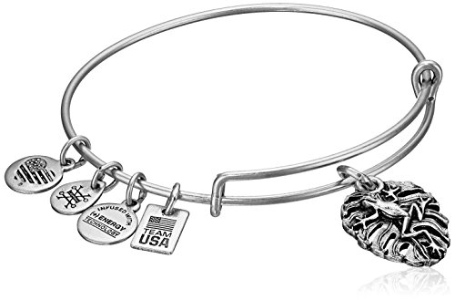 Alex and Ani Women's Frog Bangle Silver One Size by Alex and Ani