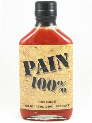 Pain 100% Hot Sauce (Pack of 3) by Pain Is (Pain 100% Hot Sauce)