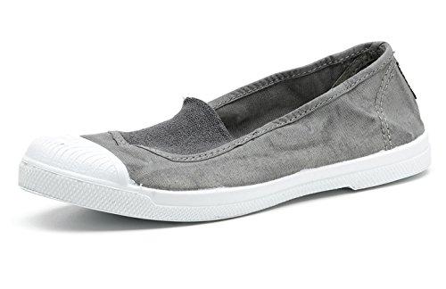 Natural in Elastico Eco Centrale con Donna per Scarpe Vegan World Trendy Tela Sneakers Srwp8qSWU