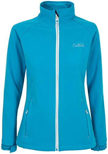 Outhorn Women's Full Zip Softshell Jacket (turquoise, XS)