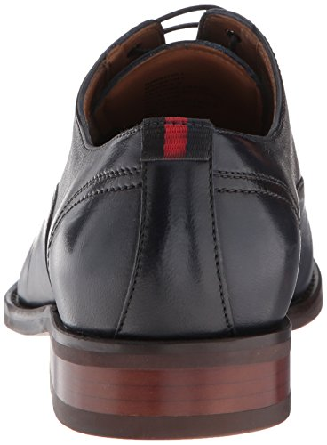 Pictures of Steve Madden Men's Driscoll Oxford Navy DRIS01M1 Navy Leather 7