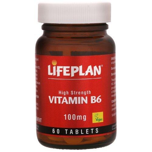 Lifeplan High Strength Vitamin B6 Pyridoxine 60 Tablets by Lifeplan