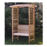 Western Red Cedar Wood Outdoor Garden Arbor