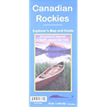 Canadian Rockies - scale 1 : 400 000
