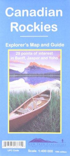 Canadian Rockies (formerly Banff-Jasper map)