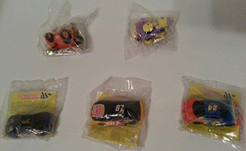 - Burger King 1997 Cartoon Network Wacky Racing Set of 5, Team Kids Club
