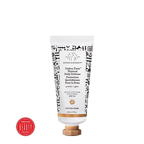 Drunk Elephant Umbra Tinte Physical Daily Defense - Tinted Moisturizer and Broad Spectrum SPF 30 Sunscreen (2 oz)