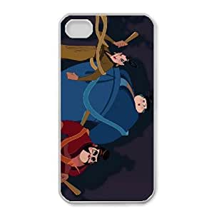 iphone4 4s Phone Case White Mulan Chien Po CYL8682978