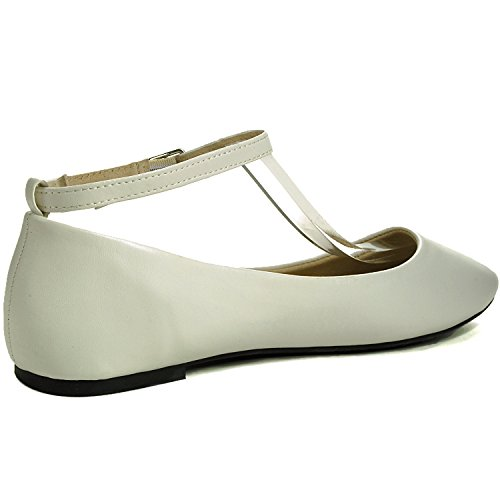 Alpine Ankle Ballet Flats Lined Suede White Calla Swiss Women's Strap 66ApqR