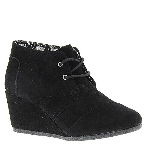 Women's Toms 'Desert' Wedge Bootie, Size 5 M - Black