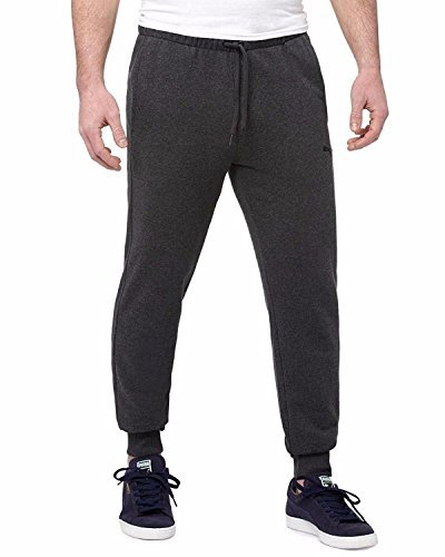 PUMA Men's French Terry Pant (Dark Charcoal Grey, X-Large)