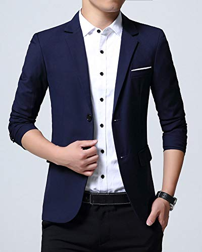 Veste Blazer 2marin Jacket Homme Manteau Slim Costume De dHvzwUOq