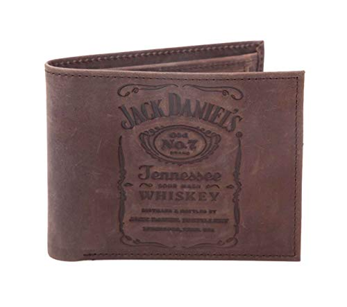 Jack Daniels Wallet Debossed Classic Old No 7 Logo for sale  Delivered anywhere in USA