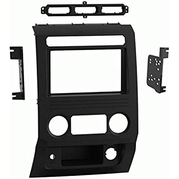 Tourneo Custom 2012+ Nrpfell 2-DIN Car Head Unit Fascia Facia Installation Dash Kit for Transit Custom Black