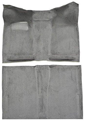 1980 to 1983 Datsun Truck Extended Cab Carpet Custom Molded Replacement Kit (801-Black Plush Cut Pile)