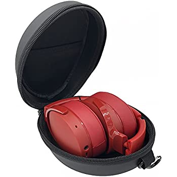 Esimen Headphone Case for Skullcandy Crusher Skullcandy Hesh 3 Sennheiser Momentum 2.0 Sony H.Ear On Wireless Headphone Carrying Bag Box (Black)