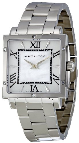Hamilton American Classics Jazzmaster Square Ladies Watch H32291114 (Wrist Watch Diamond Hamilton)