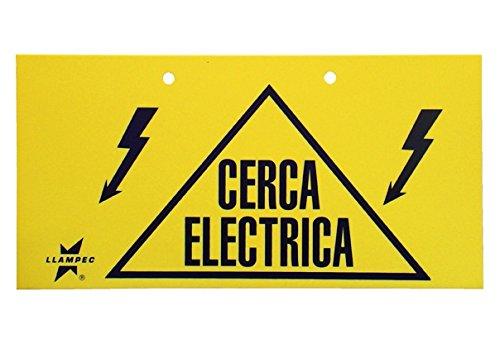 Llampec SEN000001 Señal cerca eléctrica: Amazon.es ...