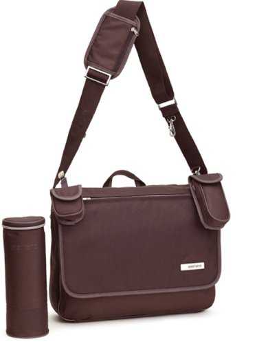 Wickeltasche Allerhand AH-MB-MB-03 09 Modern Basic Messenger Bag Chocolate Brown