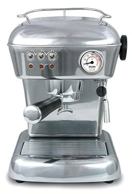 ASCASO DREAM espresso machine polished aluminum