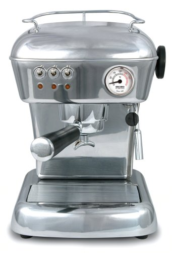 ASCASO DREAM espresso machine polished aluminum