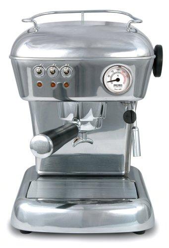 ASCASO DREAM espresso machine polished aluminum by Ascaso