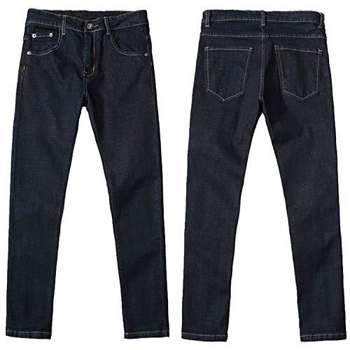 Base Comode Dei Abiti Denim A Sigaretta Stretch Pantaloni Fit Taglie Jeans I Sezione Lavato Colour Di Uomini Slim B86q7a