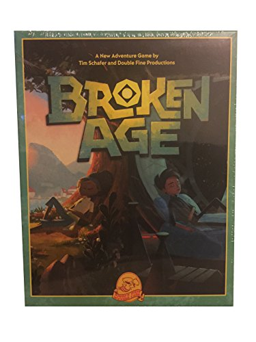 Broken Age Retro Big Box Edition (Broken Age Pc Game)