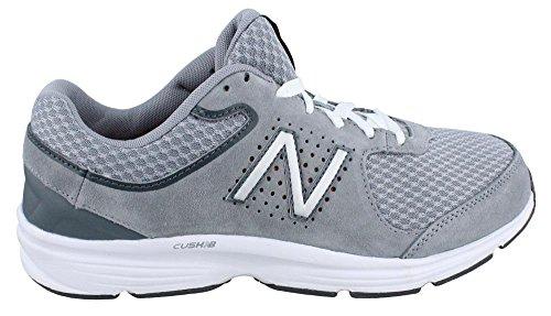New Balance Men's MW411GR2 Walking Shoe, Grey, 9.5 2E US