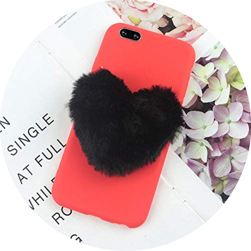 Furry Love Hearts Cute Hair Phone Case for Samsung for sale  Delivered anywhere in USA