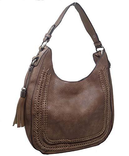 Vegan Handbag Java Leather Hobo Noelle Fishtail Simply Collection SxwF5aS