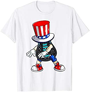 Flossing Lacrosse With USA Hat Patriotic 4th Of July T-shirt   Size S - 5XL