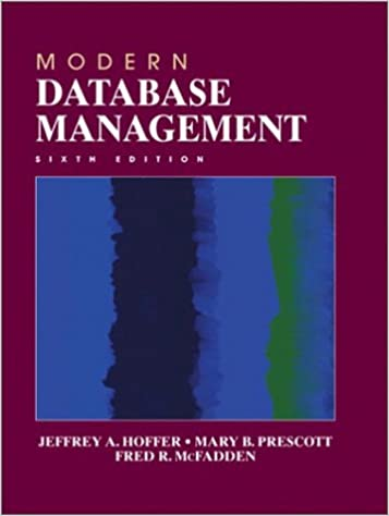 Modern Database Management 11th Edition Ebook
