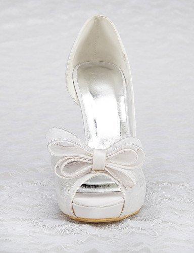 ShangYi - Schuh Damen - Hochzeitsschuhe - ShangYi Absätze / Plateau - Sandalen - Hochzeit / Kleid / Party & Festivität - Weiß  4in b5b10f