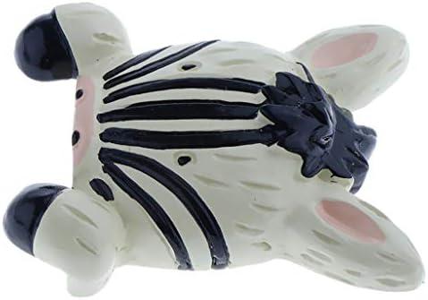 B Blesiya Lichtschakelaar cover muursticker stripstrips zebra